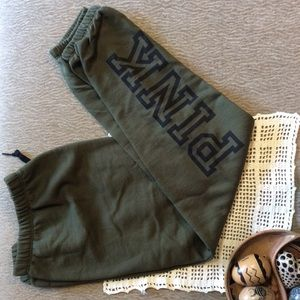 Olive SweatPants by PINK